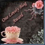 Lovely blog award from Home mum of 2 and Nadine Hill and clarey babble